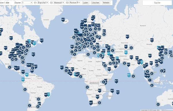 Ausbau unseres internationalen Netzwerks auf über 1.000 Standorte