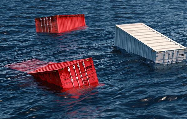 Fachartikel zu Containerverlusten auf See