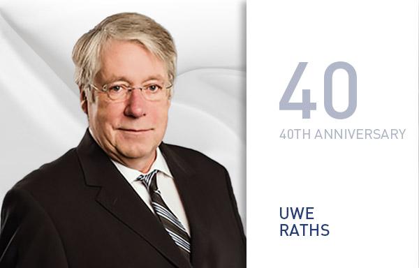 Uwe Raths - 40 Jahre bei B+T