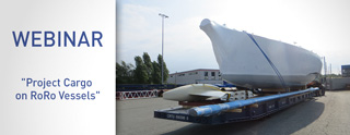 Webinar Project Cargo on RoRo Vessels